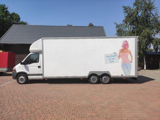 Renault master kontener, food truck, meblowóz 32m3, okazja