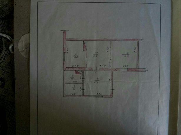 3-х комнатная квартира в одноэтажном доме
