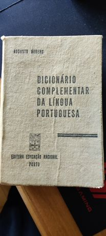 Dicionário complementar da língua portuguesa