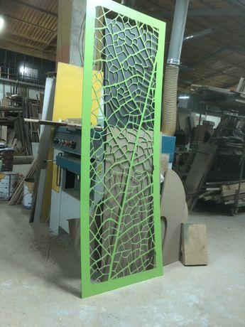 Trabalhos em CNC