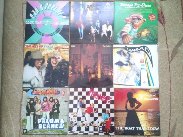 płyty winylowe pop