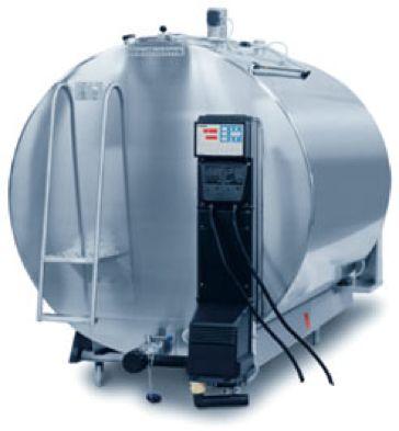 Schładzalnik chłodnia mleka 1600l Eurotank wymiennik ciepła zamknięty