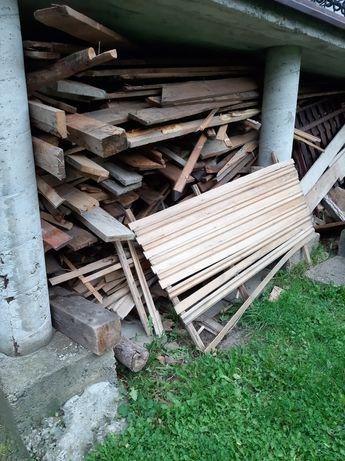 Drewno opałowe ok 7m suche drzewo krótkie i dłuższe kawałki zadaszone
