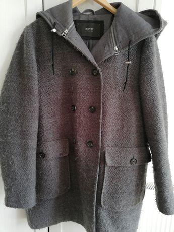 Płaszcz kurtka przejściowy na wiosnę szary Esprit roz. 42 XL