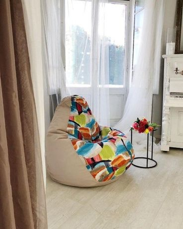 Кресло груша мешок пуф мягкая мебель доставка Киев