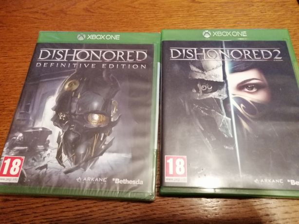 Dishonored 1 folia Xbox one