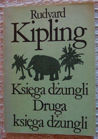 """Księga dżungli. Druga księga dżungli."" Rudyard Kipling"