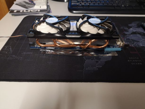 Karta graficzna ATI Radeon HD 4850 Gigabyte Customowy cooler OC