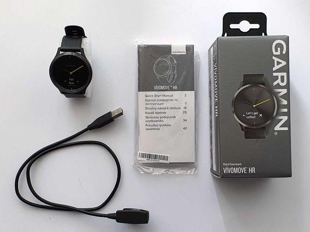 Smartwatch Garmin Vivomove HR czarny