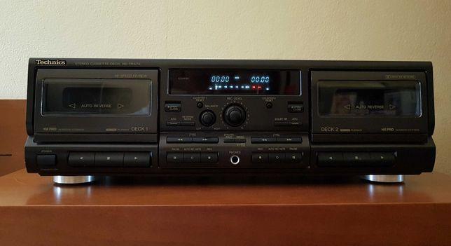 Deck Duplo de Cassetes Technics RS-TR575 HX-PRO