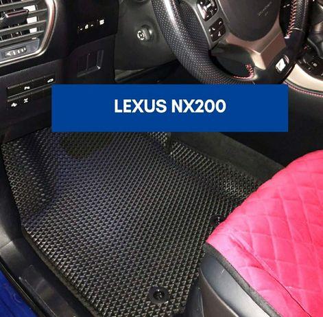 Автоковрики Ева 3Д Ford Focus Fusion Mondeo Kuga C-max Fiesta  итд