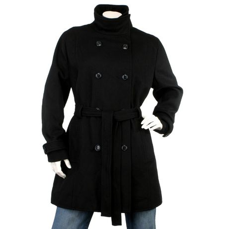 H&M пальто женское р. 50/XL полупальто шерстяное демисезон 58% шерсть