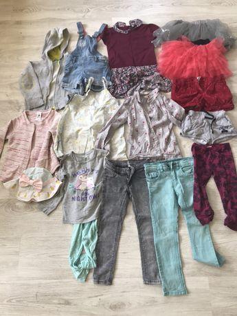 Одежда на девочку 3-5 лет р.104-116