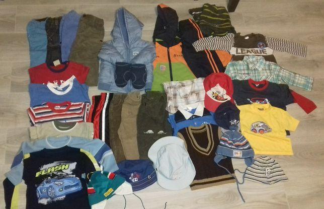 Paka ubrań dla chłopaka 74-86
