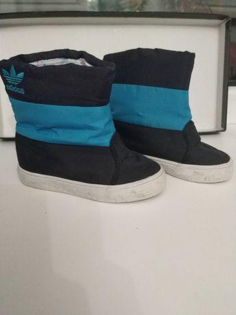 Adidas сапоги, ботинки осень , чоботи us6