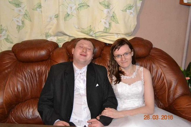 Suknia ślubna ani