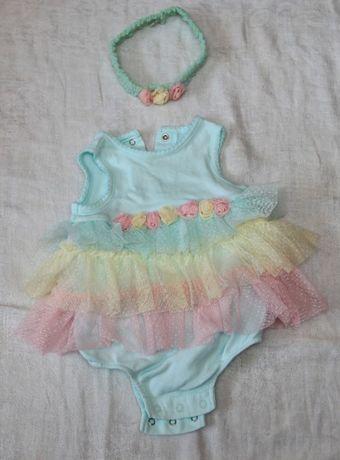 Платье на крещение для девочки