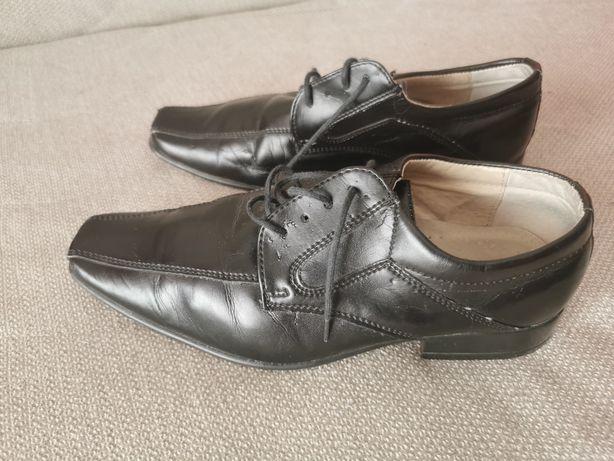 Buty chłopiece komunijne rozmiar 34