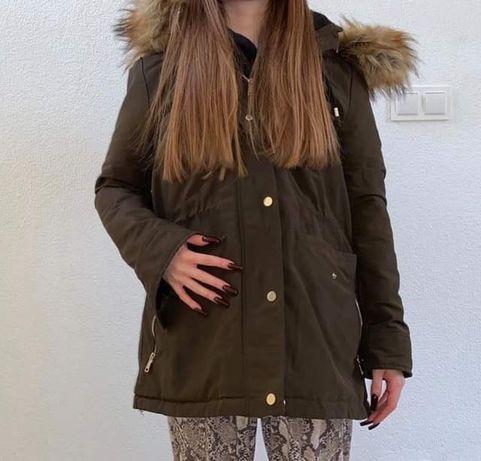 Kurtka zimowa Zara parka