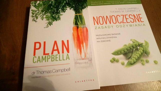 Książki kulinarne o zdrowiu wege Plan Cambela