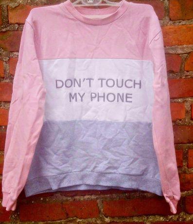 Blogerska pasteowa bluza