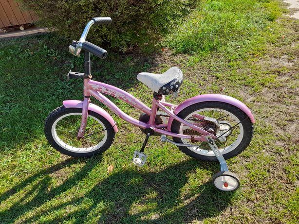 Rowerek dziewczęcy 16 cali