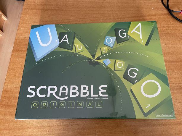 """Jogo """"Scrabble"""" (palavras cruzadas) NOVO Selado"""