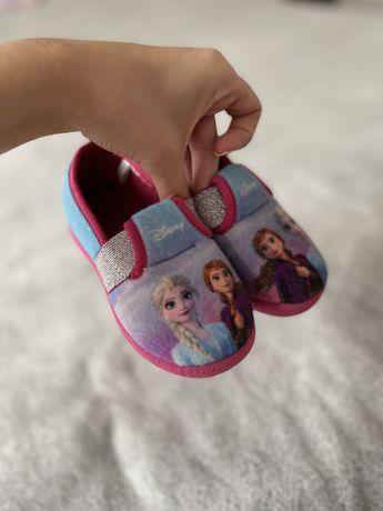Тапочки, тапки   на девочку Frozen Турция