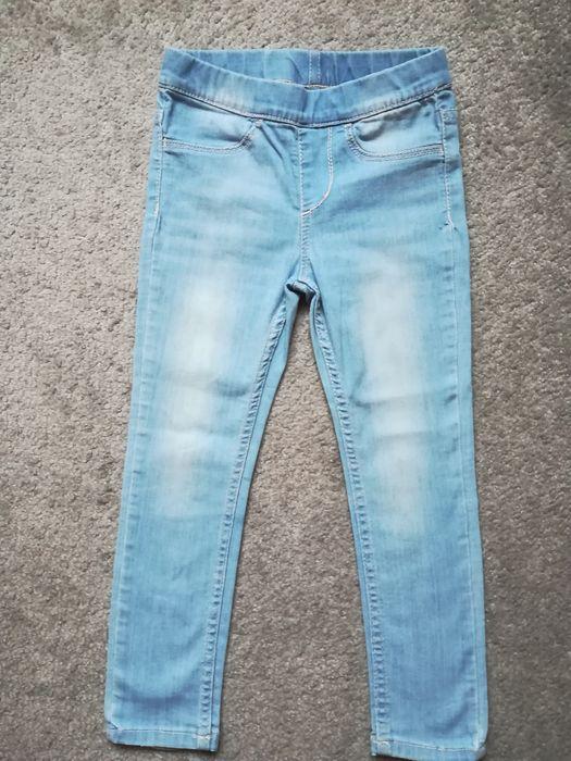 Leginsy jeansowe roz. 104 Chudów - image 1