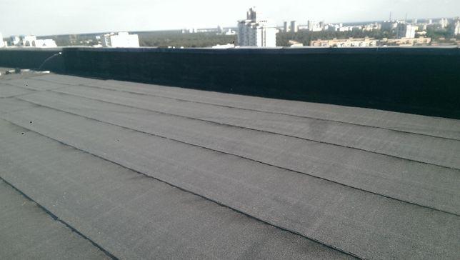 Наплавляемая гидроизоляция мягкая плоская кровля крыша ремонт