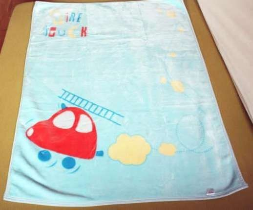Gruby Koc Baby Ono Akrylowy Premium 110x140 cm Auto + Drugi GRATIS