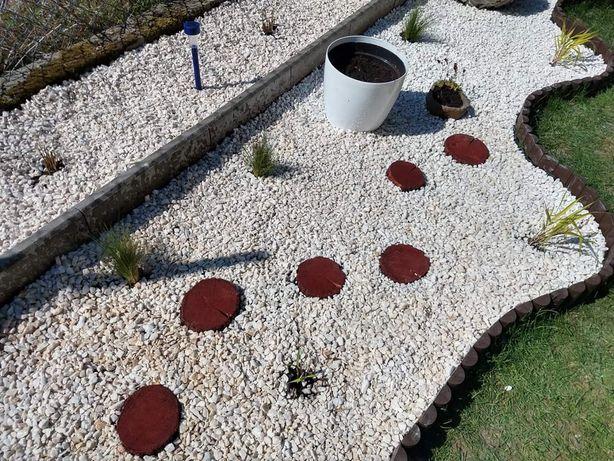 Grys biała, niebieska Marianna kamień czarny ogród DOSTAWA+głaz gratis