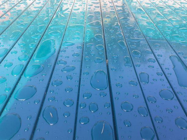 Słupki 60x40 grafit i zielony 2,4 m slupek do paneli ogrodzeniowych