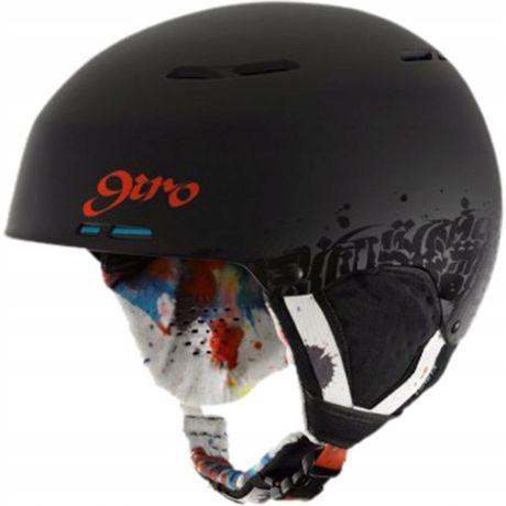 Kask Narciarski Snowboardowy GIRO COMBYN FREESTYLE 52-55,5 jak UVEX 4F