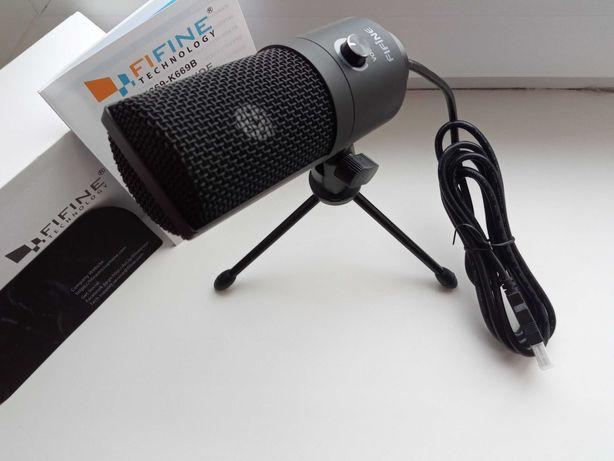 Настольный конденсаторный микрофон Fifine K669