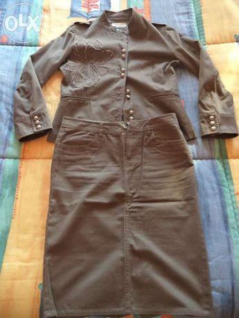 Fato (casaco e saia ) Tintoreto tamanho 40 e 38