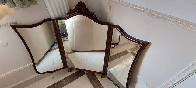 Espelho antigo com laterais