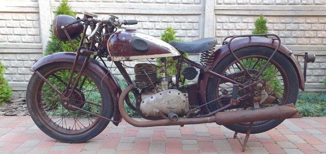 Продам ретро-мото Triumf - 1936 года.