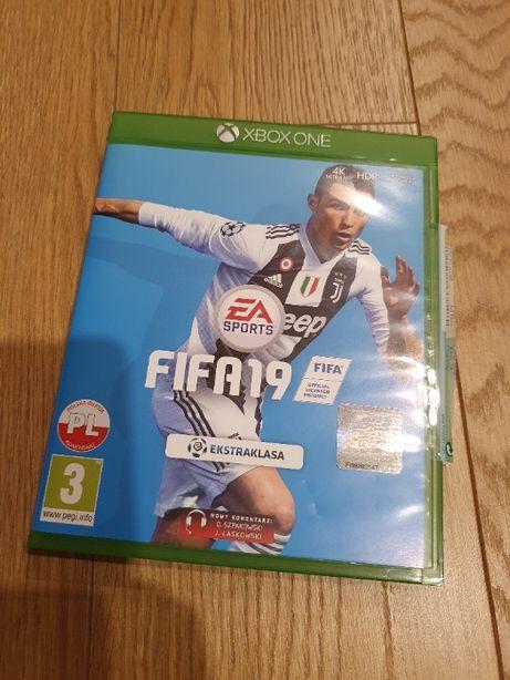FIFA 19 PL Xbox One Łódź