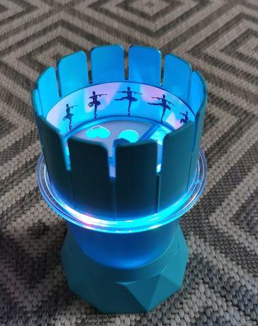 4M Lampka nastrojowa, projektor, zoetrop