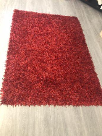 Tapete vermelho 1,33 mx 1,90m, como novo