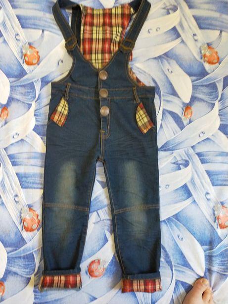 Комбинезон (джинсы)
