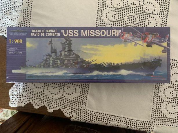 """Kit de Navio - 1:900 Navio de Combate """"USS MISSOURI"""""""