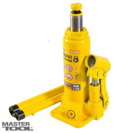Домкрат гидравлический бутылочный Mastertool 2т, 181-345 мм, 86-0020