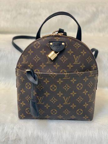Piękny plecak Louis Vuitton model moon monogram canvas jakość backpack