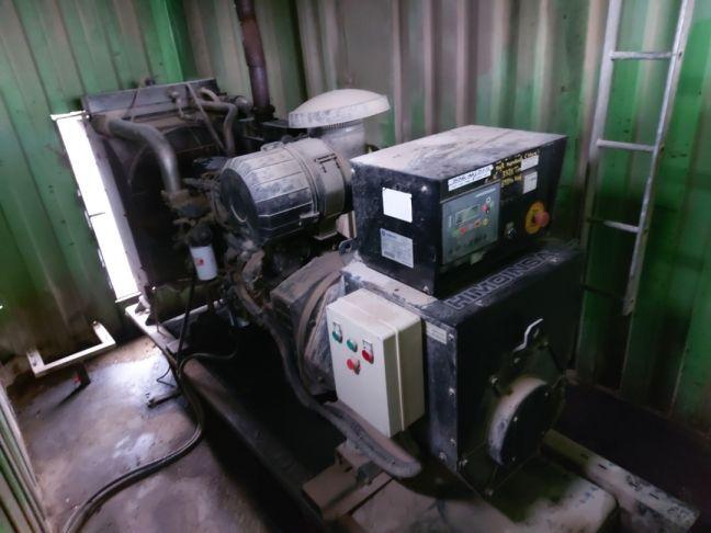 agregat prądotwórczy Himoinsa HIW-200 T5ag 200kva 2008 rok silnik 6cyl Rozprza - image 1