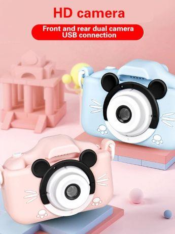 Aparat cyfrowy dla dzieci FULL HD z grami / kotek / piesek / myszka