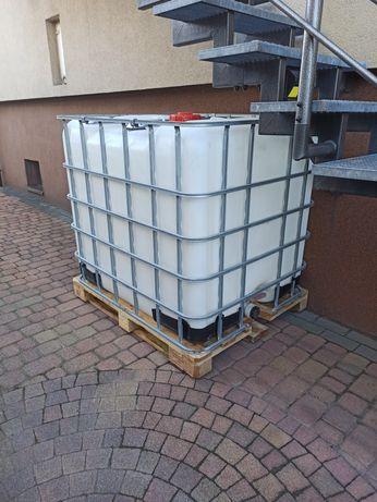 Zbiornik mauser czysty 1000 l