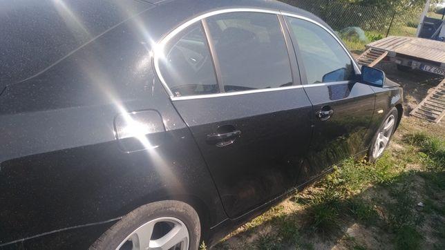 Bmw e60 drzwi schwarz 2