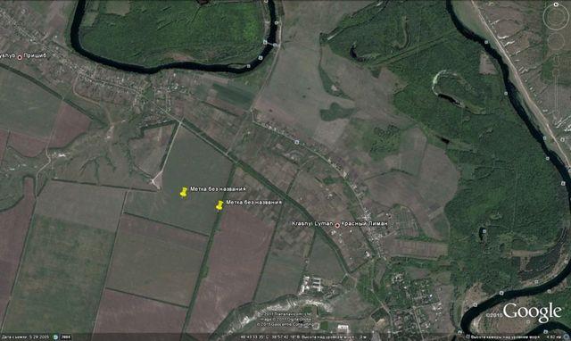 Продам землю 2 га с/х назначения в Славяносербском районе